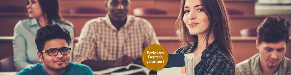 Bachelorarbeit korrekturlesen lassen für non-native speaker