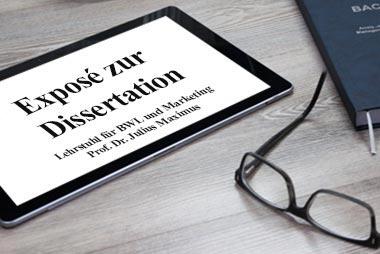Dissertation schreiben