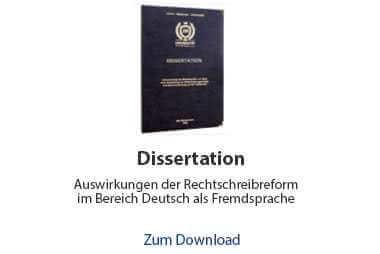Dissertation Beispiel Literaturwissenschaft