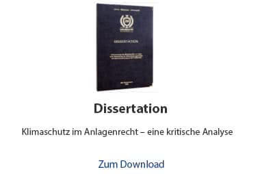 Dissertation Beispiel Rechtswissenschaften