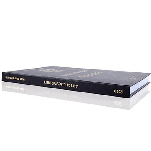 Standard Hardcover Buchrücken