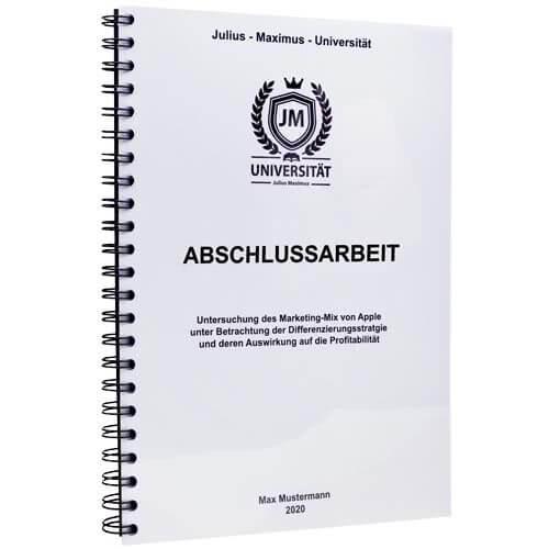 Abschlussarbeit drucken Innsbruck