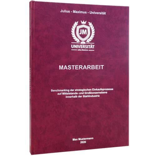 Masterarbeit binden Klagenfurt