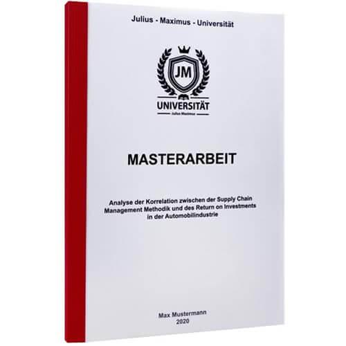 Masterarbeit drucken Klagenfurt