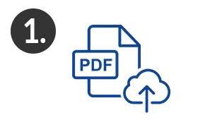 Schritt 1 - Diplomarbeit zum drucken und binden als PDF im 24h-Online-Shop uploaden