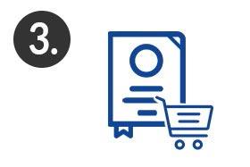 Schritt 3 - Hardcover-Prägung mit Logo gestalten – Buchecken und Lesenband auswählen – bestellen