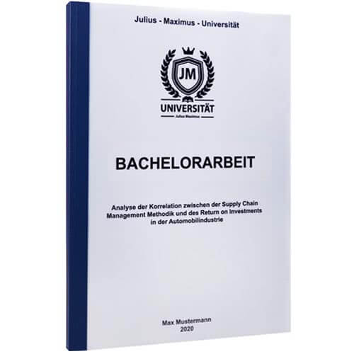 Bachelorarbeit drucken Krems