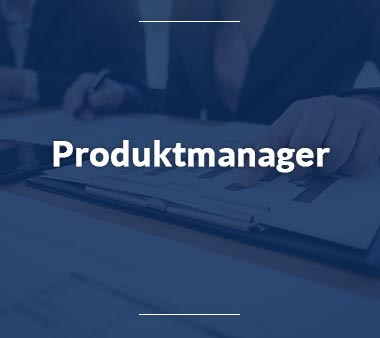 Produktmanager Jobs