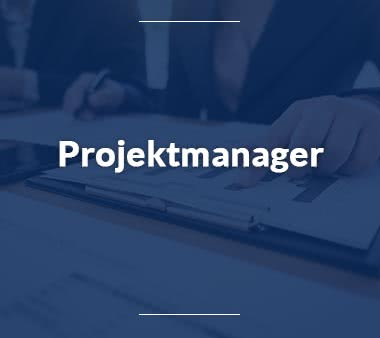 Projektmanager Jobs
