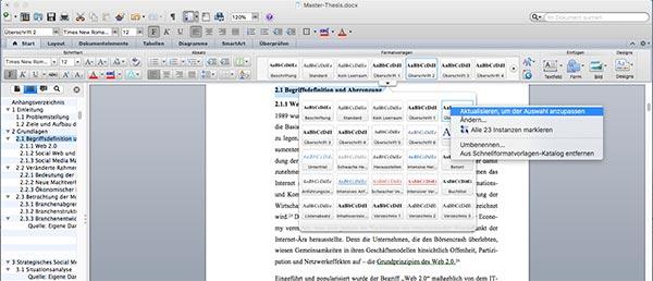 Überschrift-nummerieren-Word-Inhaltsverzeichnis-Mac