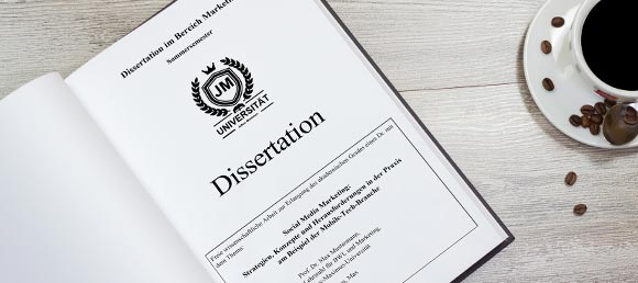Korrekturlesen Dissertation Überblick