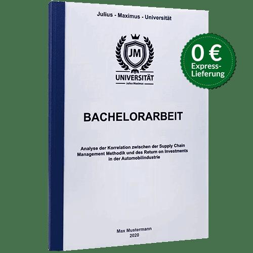 Bachelorarbeit binden Klebebindung