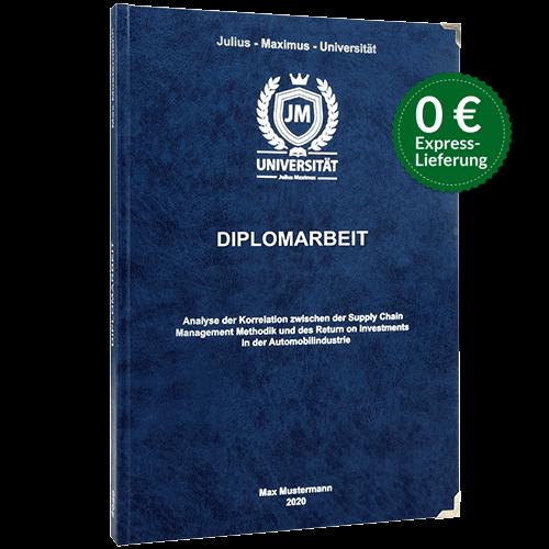 Diplomarbeit Hardcover Stoerer