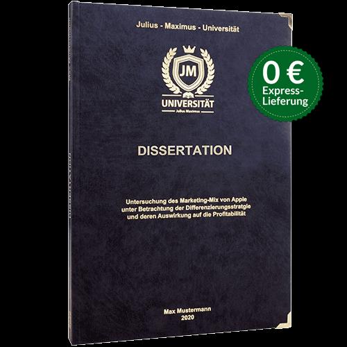 Dissertation Hardcover Stoerer
