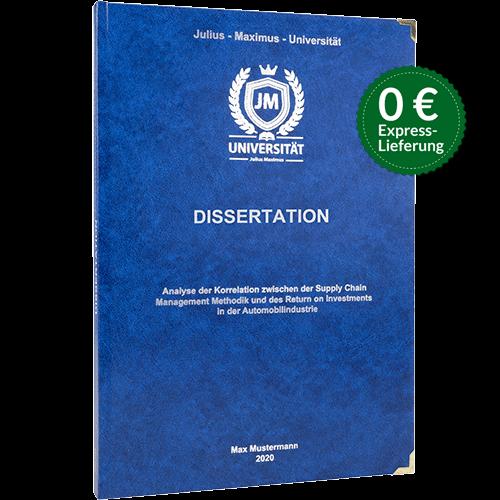 Dissertation Standard Hardcover Stoerer
