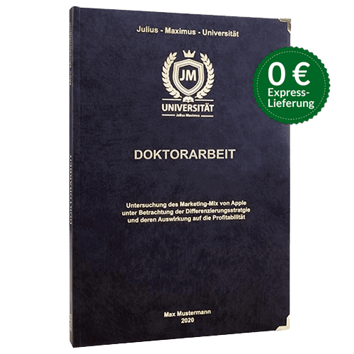 Doktorarbeit Hardcover Stoerer