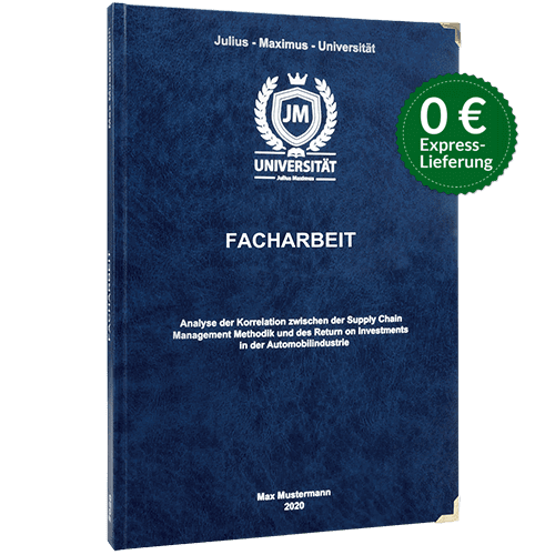 Facharbeit binden premium Hardcover
