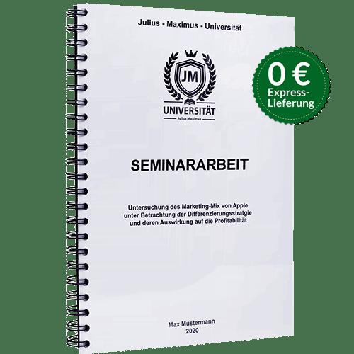 Seminararbeit binden Spiralbindung