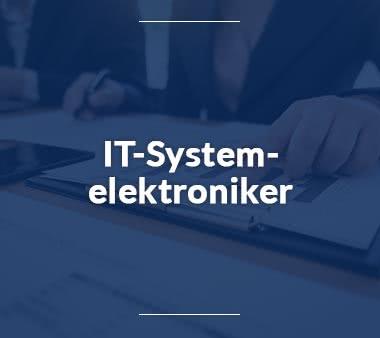 Bioinformatiker IT-Systemelektroniker