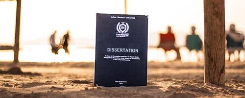 Dissertation binden Hardcover