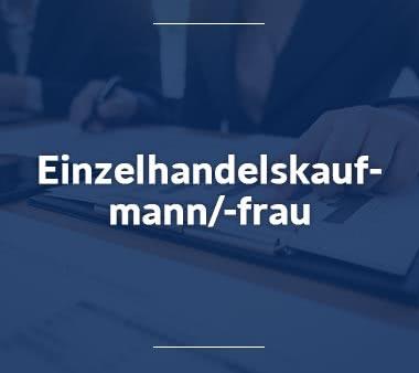 Finanzbuchhalter Einzelhandelskaufmann-Einzelhandelskauffrau-