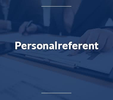 Finanzbuchhalter Personalreferent
