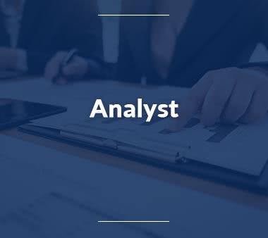 Analyst Jobs
