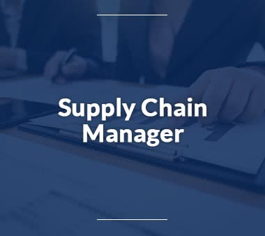 Pilot Supply Chain Manager Jobs
