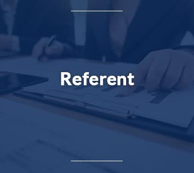 Referent Jobs