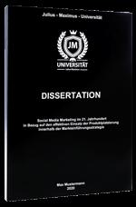 Dissertation binden in der Magazinbindung