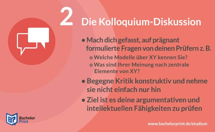 Kolloquium Diskussion