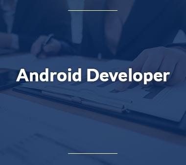 Android Developer Technische Berufe