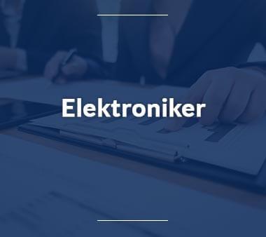 Elektroniker Berufe mit Zukunft