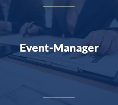 Event Manager Kreative Berufe