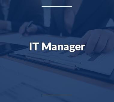 IT Manager Technische Berufe