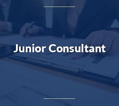 Junior Consultant Bürojobs