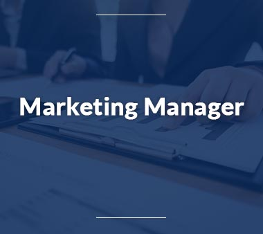 Marketing Manager Kreative Berufe