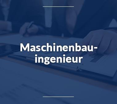 Maschinenbauingenieur Technische Berufe