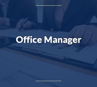 Office Manager Bürojobs