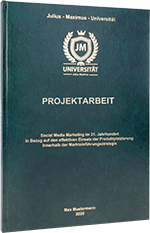 Projektarbeit drucken Standard Hardcover
