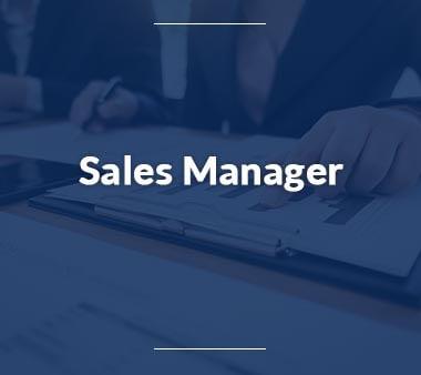 Sales Manager Berufe mit Zukunft