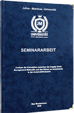 Seminararbeit drucken Hardcover Premium