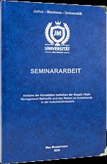 Seminararbeit drucken Standard Hardcover