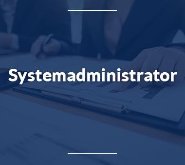 Systemadministrator Bürojobs