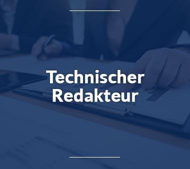 Technischer Redakteur Technische Berufe