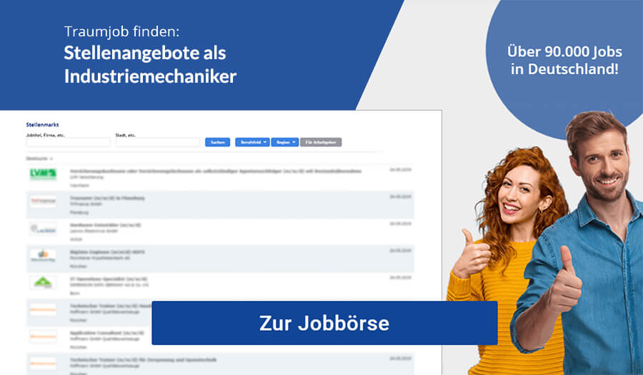 Industriemechaniker Jobs