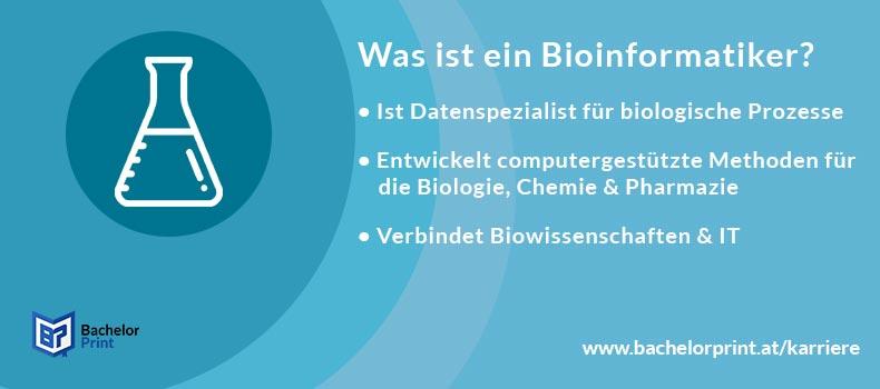 Bioinformatiker Definition Übersicht