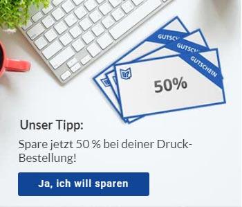 Copyshop Innsbruck 50 Prozent sparen