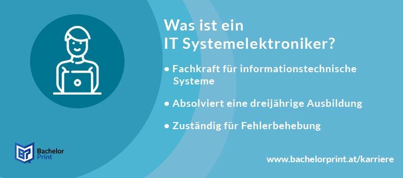 IT-Systemelektroniker Definition Übersicht