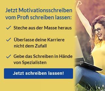Motivationsschreiben vom Profi
